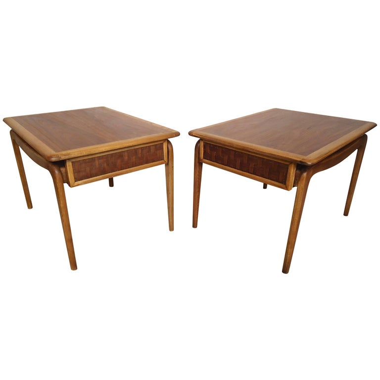 Mid-Century End Tables by Lane For Sale
