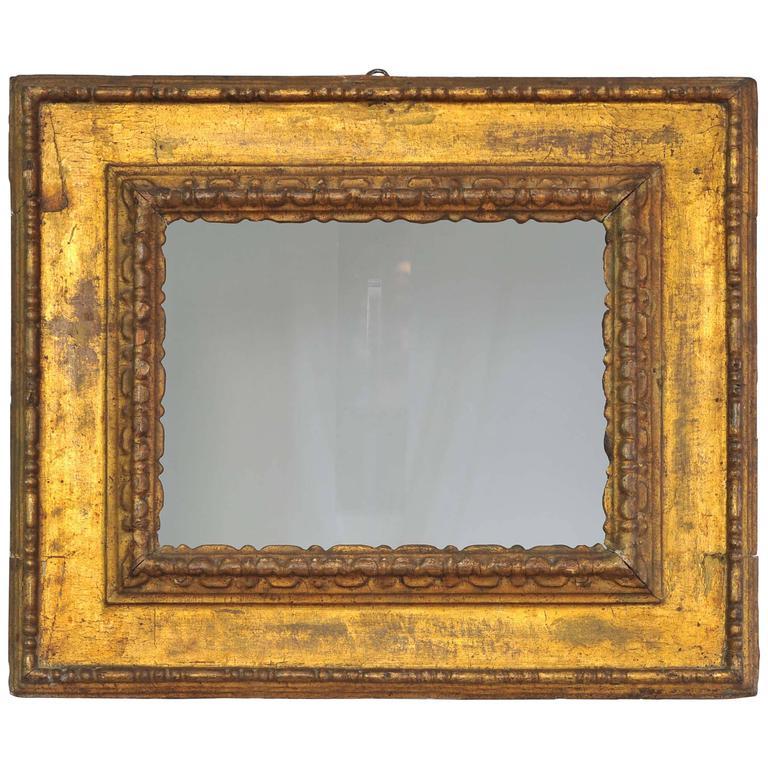 Early 17th Century Italian Tuscany Giltwood Frame Circa