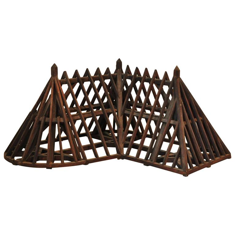 19th Century Piece De Maitrise Architectural Model Roof