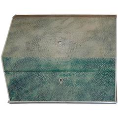Late 19th Century Shagreen Letter Box