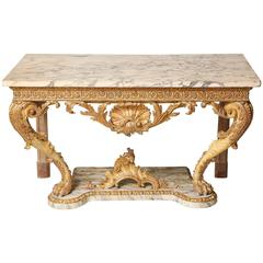 Important George II Console Table