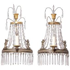 Pair of Gustavian Sconces