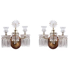 Pair of Georgian Two-Light Sconces