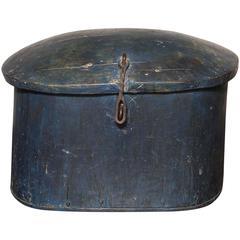 18th Century Norwegian Dugout Pantry Box