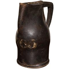 "18th Century English Leather ""Black Jack"""