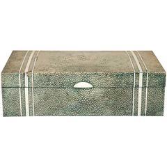 1930s Bone and Shagreen Box