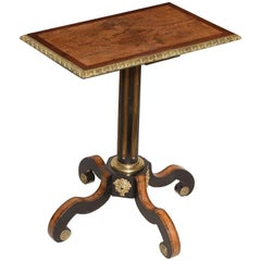 English Regency Table in the Manner of Thomas Parker