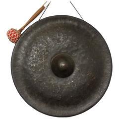 Bronze Temple Gong