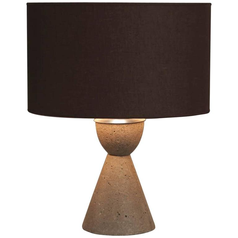 Cement Table Lamp Pictures To Pin On Pinterest