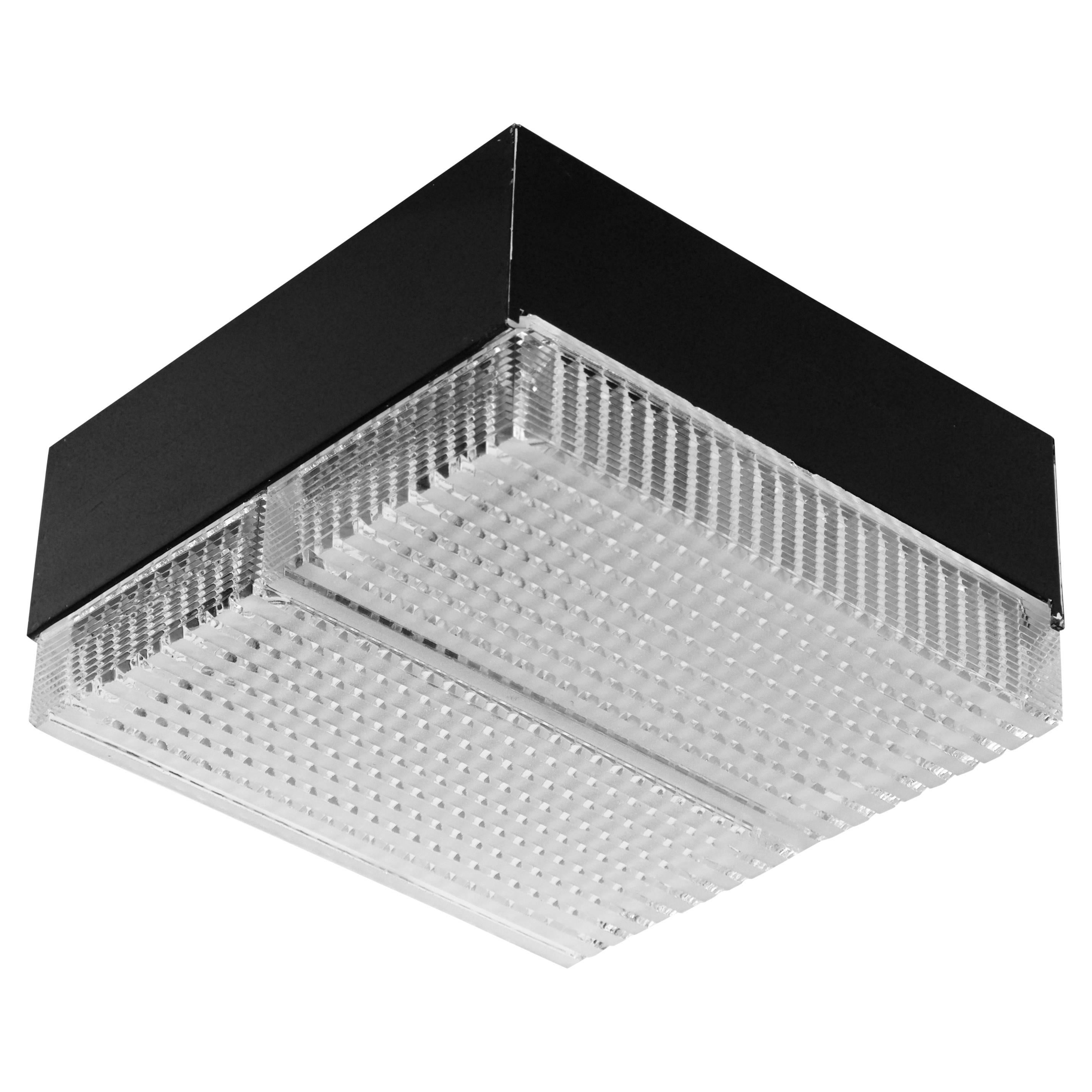 Square Wall Sconce or Flush Mount Light