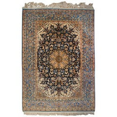 Whimsical Early 20th Century Isfahan Rug