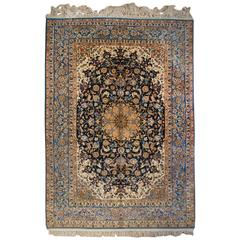 Whimsical Early 20th Century Isfahan Rug