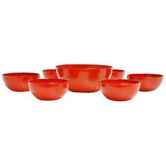 Arabia Finel Bowl Set by Kaj Franck, Finland, 1960