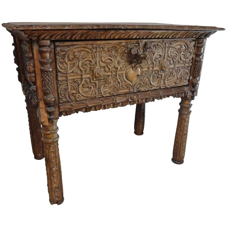 Spanish Colonial Console Table At 1stdibs