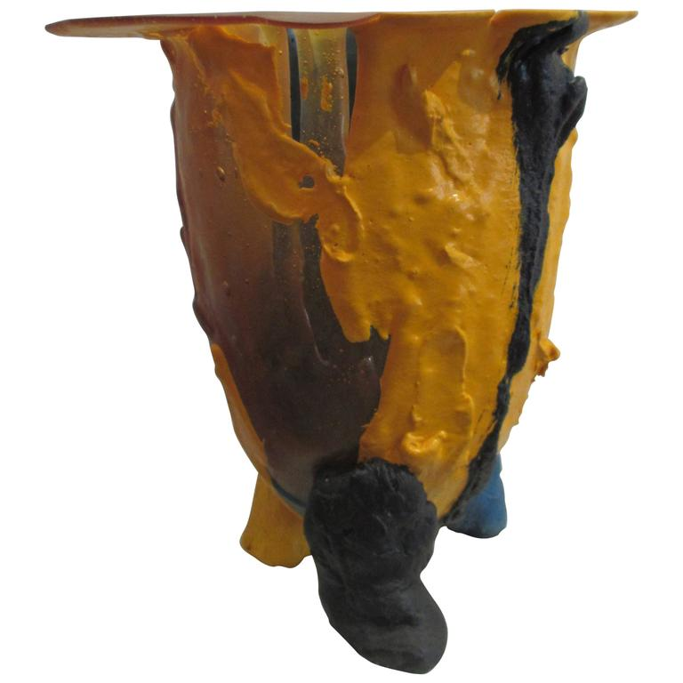 Vase by gaetano pesce fish design italy at 1stdibs for L fish furniture