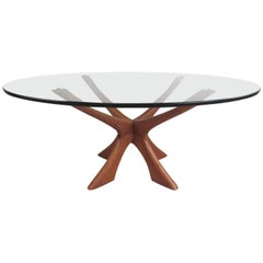 Illum Wikkelsø Scandinavian Modern Coffee Table