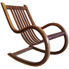 Studio Crafted Rocking Chair, Mexico Rocker