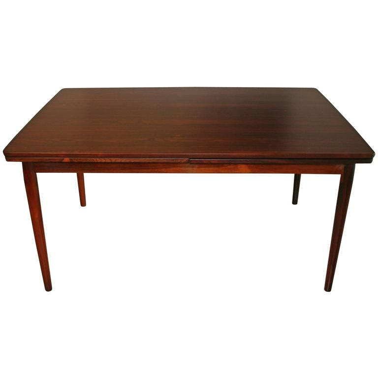 Vintage Danish Rosewood Dining Table by Neils Otto M248ller  : 4894043l from www.1stdibs.com size 768 x 768 jpeg 17kB