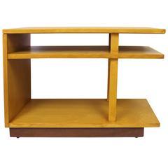 Three-Tier End Table by Eliel Saarinen