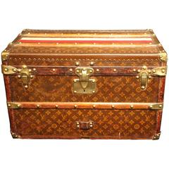 1920s Very Small Louis Vuitton Shoe Trunk