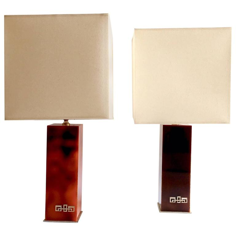 1970s Table Lamps Mahey Style