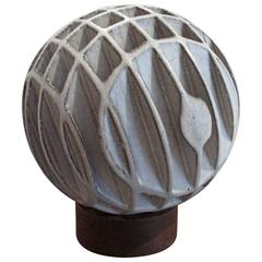 Sphere Sculpture by Alessio Tasca, Signed with Mark
