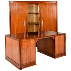 Early Art Deco Executive Office Set by Gauthier Poinsignon, circa 1920