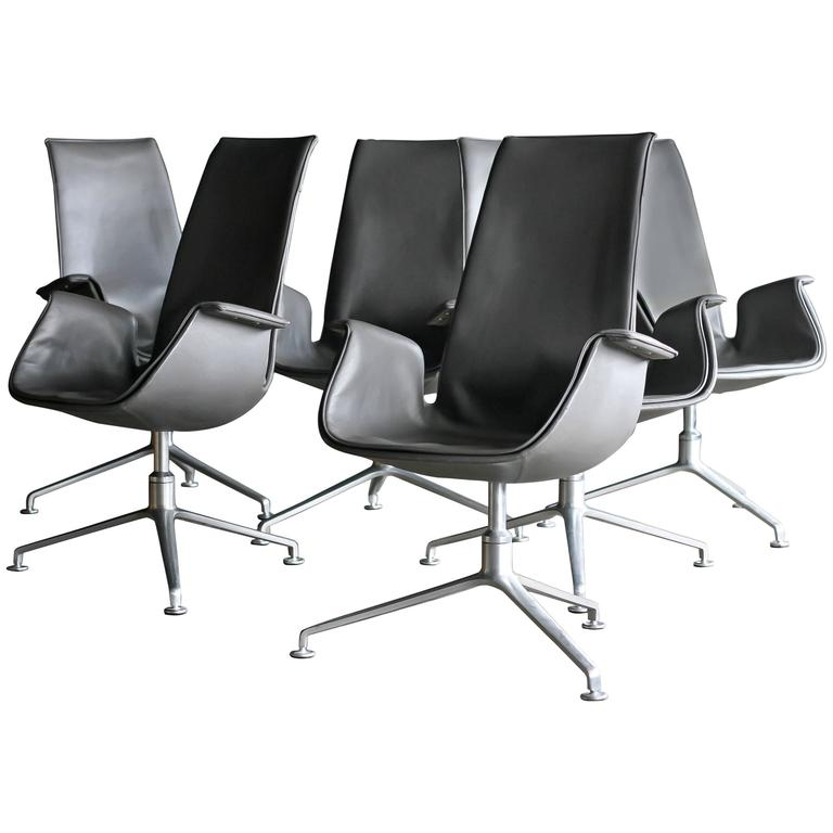 FK 6725 Conference Chairs by Preben Fabricius & Jørgen Kastholm For Sale