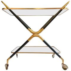 Cesare Lacca Bar Cart, Italy, 1950s