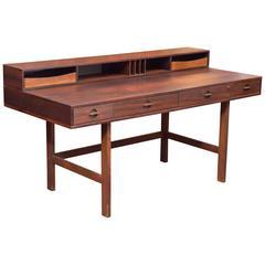 Danish Modern Rosewood Desk by Lovig