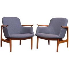 Finn Juhl NV 53 Lounge Chairs