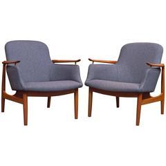 Finn Juhl NV 53 Lounge Chairs