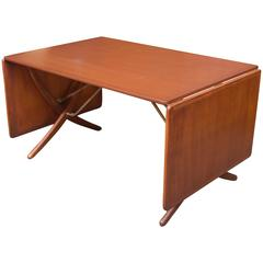 Hans Wegner Dining Table Model AT-304 by Andreas Tuck