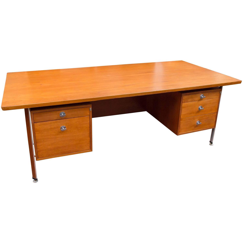 Finn Juhl Danish Modern Technocrat Desk For Sale At 1stdibs