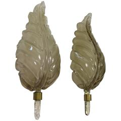 Pair of Murano Wall Lights