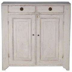 19th Century Painted Swedish Gustavian Sideboard