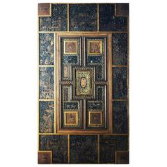 Vintage Astrological Ceiling Panel