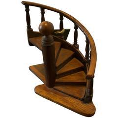 Vintage Carpenter Model Staircase