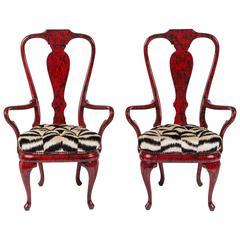 Fantastic Pair of Armchairs by Phyllis Morris