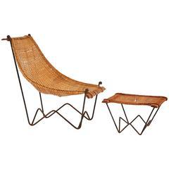 Duyan Lounge Chair and Ottoman by John Risley