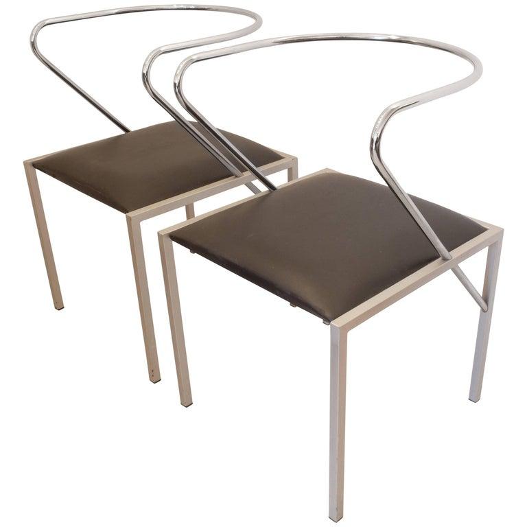 Shiro Kuramata Apple Honey Side Chairs For Sale