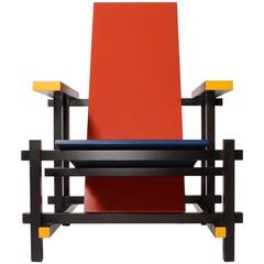 Red and Blue Chair by Thomas Rietveld for Cassina