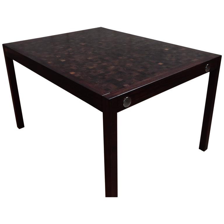 Dieter waeckerlin extendable wenge table at 1stdibs - Table extensible wenge ...