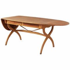 Børge Mogensen Rare Desk in Teak and Beech