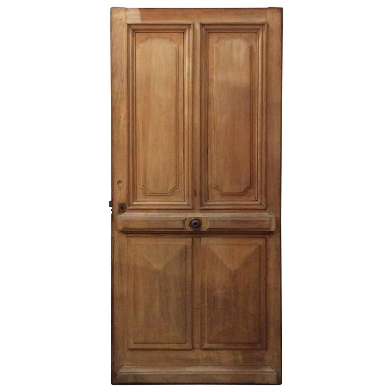 Single Oak Entry Door For Sale At 1stdibs
