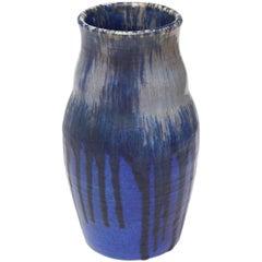 Ruskin Pottery Ceramic Vase, Glazed Stoneware, 1927