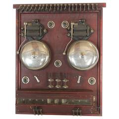 Antique American Hotel Alarm System
