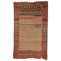 Antique Caucasian Karabagh Rug with Modern Style