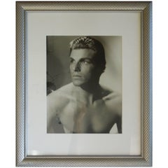 "Vintage Signed Hollywood Photograph of Handsome Actor Larry ""Buster"" Crabbe"