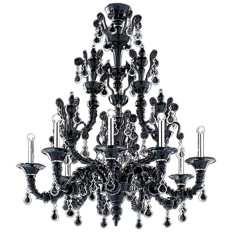 """Monumental Barovier & Toso """"Taif"""" Chandelier"""